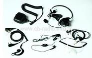 Krótkofalówki - akcesoria: słuchawki, mikrofony